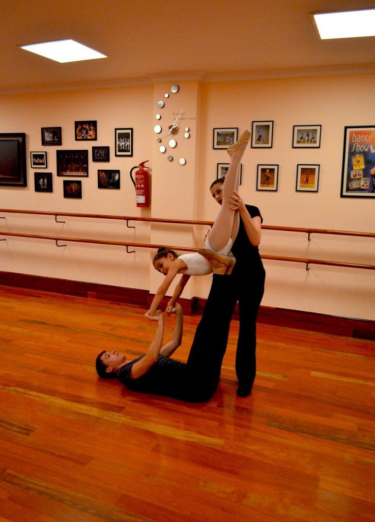 Centro de Danza Sandra Santa Cruz. ensayos para su 25 Aniversario